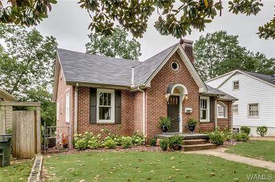 Tuscaloosa AL Single Family Home For Sale: $625,000
