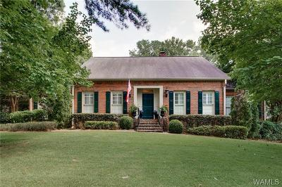 Tuscaloosa Single Family Home For Sale: 1309 Indian Hills Circle