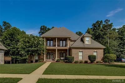 Tuscaloosa Single Family Home For Sale: 6101 Lake Cove Drive