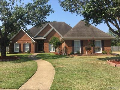 Tuscaloosa Single Family Home For Sale: 6040 Grey Circle