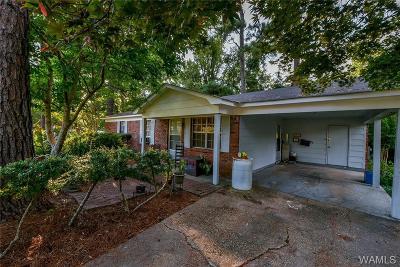 Tuscaloosa Single Family Home For Sale: 3832 31st Street