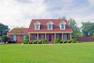 Tuscaloosa Single Family Home For Sale: 11327 McPherson Landing Road