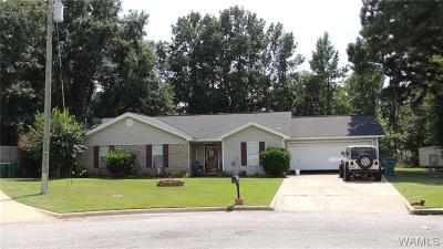 Tuscaloosa Single Family Home For Sale: 13821 Blake Drive