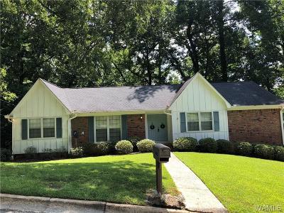 Tuscaloosa Single Family Home For Sale: 4532 Stonehill Circle