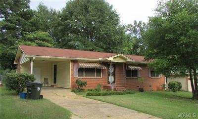 Tuscaloosa Single Family Home For Sale: 2813 39th Avenue