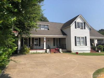Tuscaloosa Single Family Home For Sale: 1021 Queen City Avenue