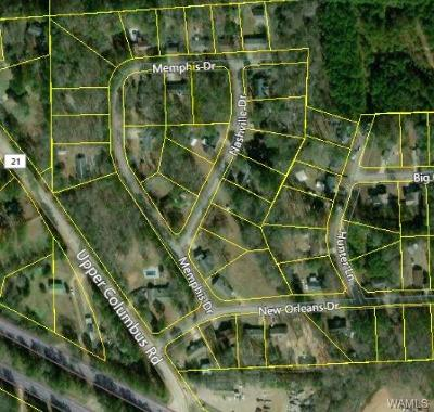Coker Residential Lots & Land For Sale: Lot 4 Memphis Drive