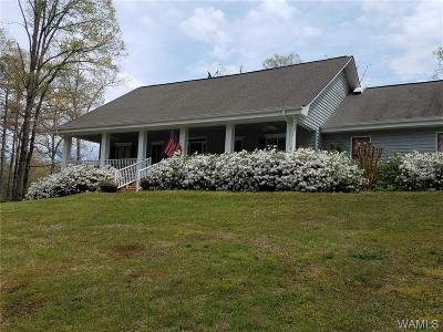 Tuscaloosa Single Family Home For Sale: 16125 Marcum Road