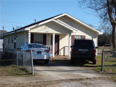 Tuscaloosa Single Family Home For Sale: 1601 Ty Rogers Avenue