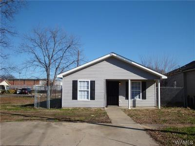 Tuscaloosa Single Family Home For Sale: 1605 Ty Rogers Avenue
