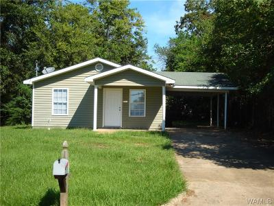 Tuscaloosa Single Family Home For Sale: 2612 20th Street