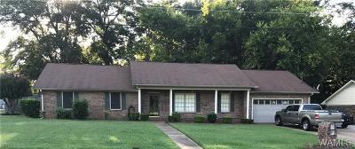 Tuscaloosa AL Single Family Home For Sale: $139,000