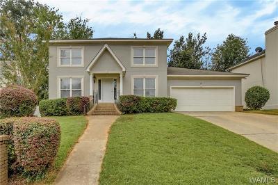 Tuscaloosa Single Family Home For Sale: 1543 Lesley Drive