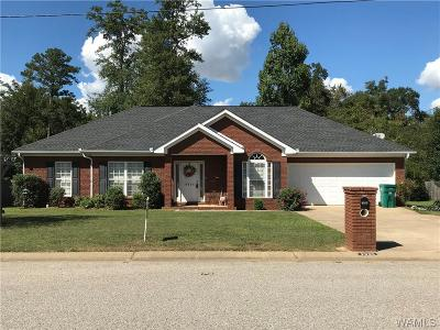 Tuscaloosa AL Single Family Home For Sale: $209,900