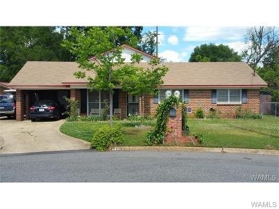 Tuscaloosa Single Family Home For Sale: 2201 32nd Court