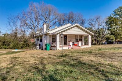 Tuscaloosa Single Family Home For Sale: 3410/3424/3500 Hargrove Road E