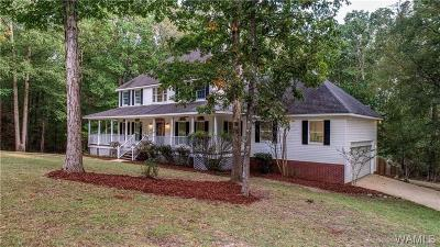 Tuscaloosa Single Family Home For Sale: 11584 Live Oak Drive