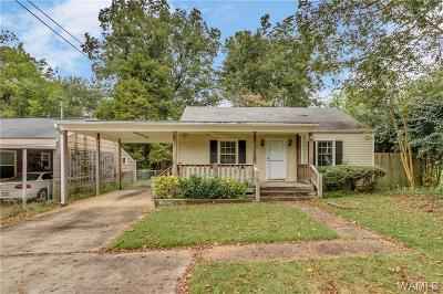 Tuscaloosa AL Single Family Home For Sale: $99,900