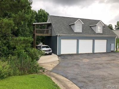 Northport Single Family Home For Sale: 9300/9280 Baptist Campground Road