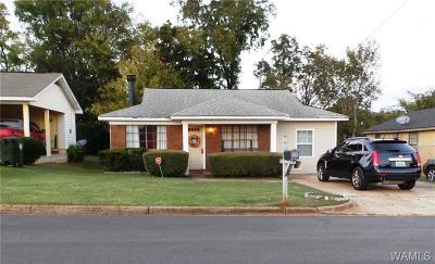 Tuscaloosa Single Family Home For Sale: 2036 6th Street E