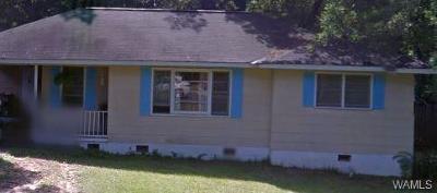 Tuscaloosa Single Family Home For Sale: 3120 2nd Avenue