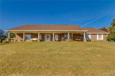 Tuscaloosa Single Family Home For Sale: 10952 Sexton Bend Road