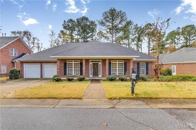 Tuscaloosa Single Family Home For Sale: 1893 Gaineswood Drive
