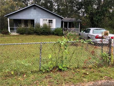 Tuscaloosa Single Family Home For Sale: 1839 Greenwood Circle