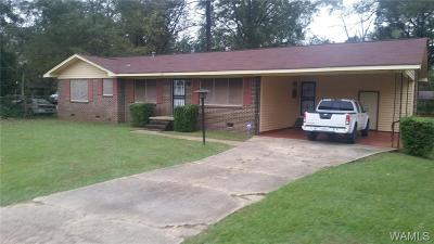 Tuscaloosa Single Family Home For Sale: 3816 3rd Ave East