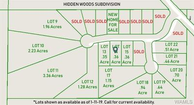 Tuscaloosa Residential Lots & Land For Sale: 14462 Hidden Woods Circle