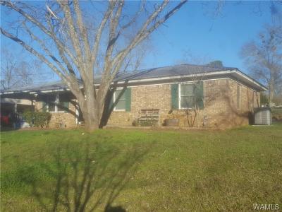 Moundville Single Family Home For Sale: 74 S Ivy Lane
