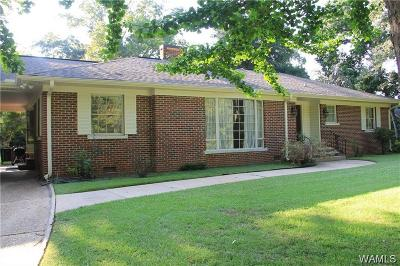 Tuscaloosa Single Family Home For Sale: 23 Sherwood