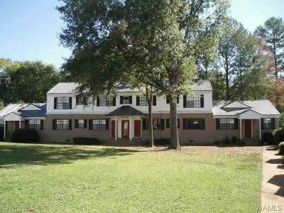 Tuscaloosa AL Single Family Home For Sale: $74,900