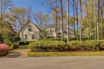 Tuscaloosa Single Family Home For Sale: 1320 Crown Circle