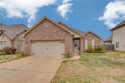 Tuscaloosa Single Family Home For Sale: 1483 Maxwell Circle