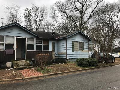 Tuscaloosa Single Family Home For Sale: 3911 24th Street