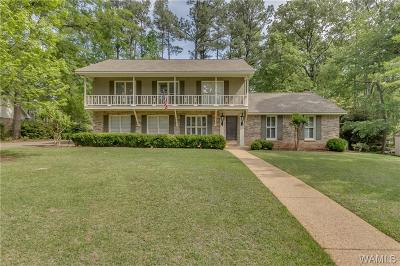 Tuscaloosa Single Family Home For Sale: 8 Dunbrook