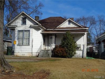 Tuscaloosa Single Family Home For Sale: 2712 20th Street