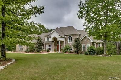 Tuscaloosa AL Single Family Home For Sale: $599,900