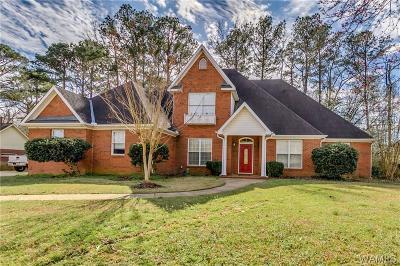 Tuscaloosa Single Family Home For Sale: 1638 Greystone Drive