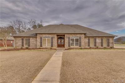 Tuscaloosa Single Family Home For Sale: 3711 Brook Highland Drive
