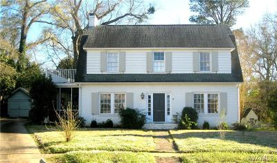 Tuscaloosa Single Family Home For Sale: 9 Country Club Circle