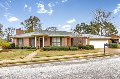 Tuscaloosa Single Family Home For Sale: 1826 Fox Ridge Road