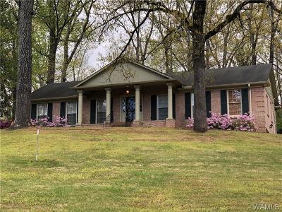 Tuscaloosa Single Family Home For Sale: 3211 Azalea Lane