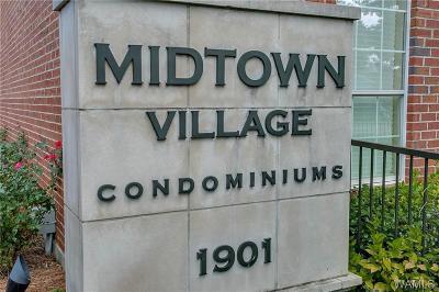 Tuscaloosa Condo/Townhouse For Sale: 1901 5th Avenue Bldg 1 #1112