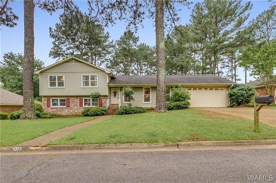 Tuscaloosa Single Family Home For Sale: 1313 Independence Drive