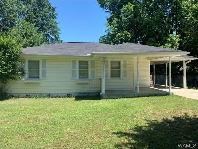 Tuscaloosa Single Family Home For Sale: 95 Orange Street