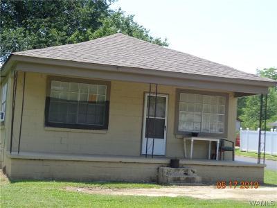 Tuscaloosa AL Single Family Home For Sale: $30,000