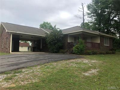 Tuscaloosa Single Family Home For Sale: 3200 University Blvd E