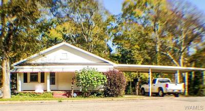 Tuscaloosa AL Single Family Home For Sale: $59,900